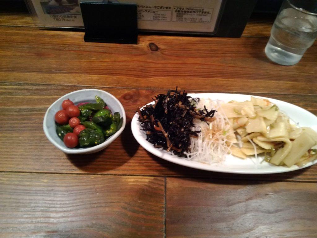 セルフサービスの惣菜