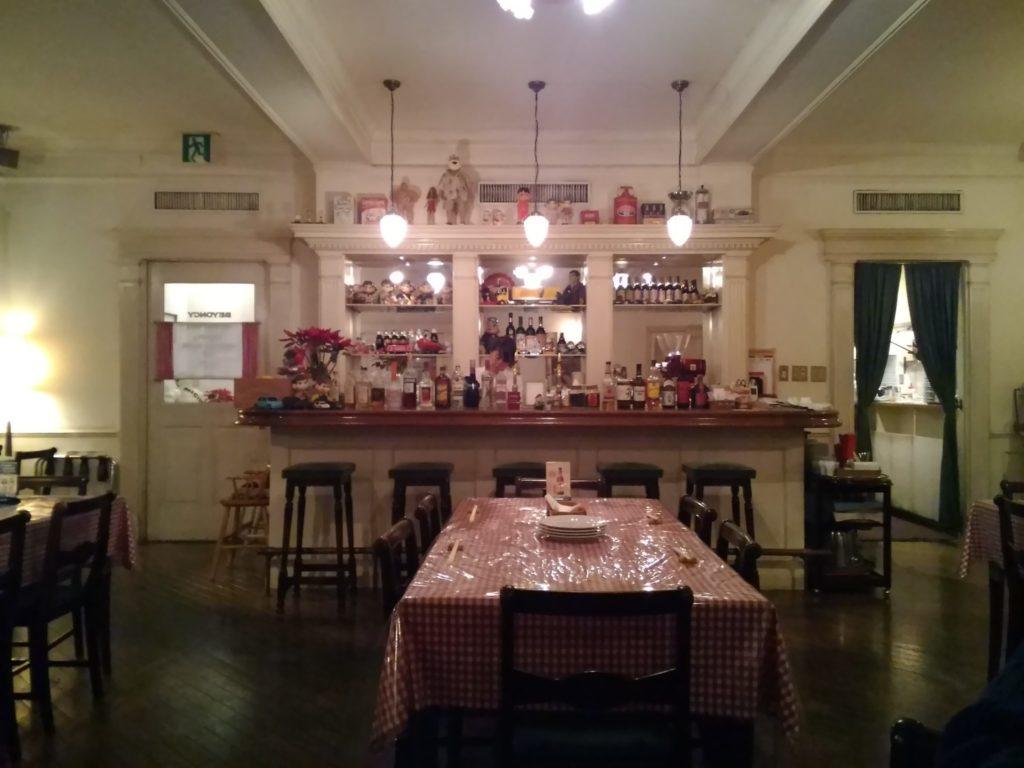 クリスマス亭の店内