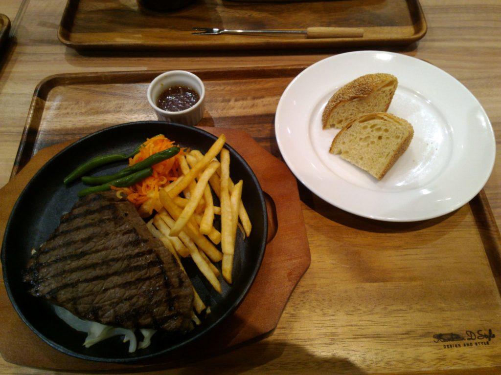 モモのステーキ